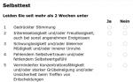 Selbsttest Depression - Deutsches Bündnis gegen Depression e. V.
